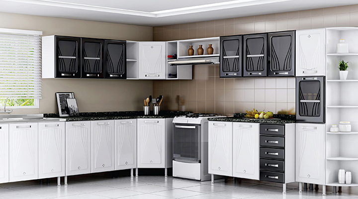 Modular smart kitchen for Smart küchen